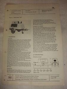 Original Original Rda Publicité Feuille De Données Diesel Compresseur Devenu 4/8 Veb Zwickau 1969-or Diko 4/8 Veb Zwickau 1969 Fr-fr Afficher Le Titre D'origine