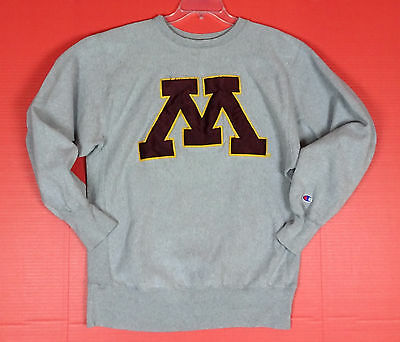 Vintage Champion Reverse Weave Sweatshirt Mens XL Minnesota Gophers Logo 80's