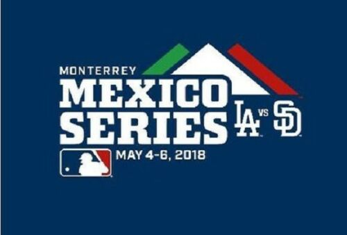 2018 MEXICO SERIES BASEBALL DODGERS PADRES RAWLINGS CUBED AUTHENTIC ... aecc25df5