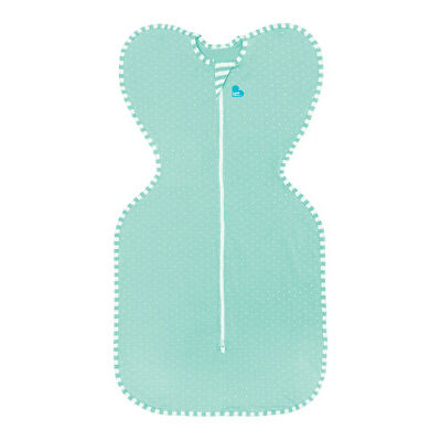 Love to Dream Swaddle Up Lite - SMALL - MINT - ZIP UP BABY SWADDLE 0.2TOG