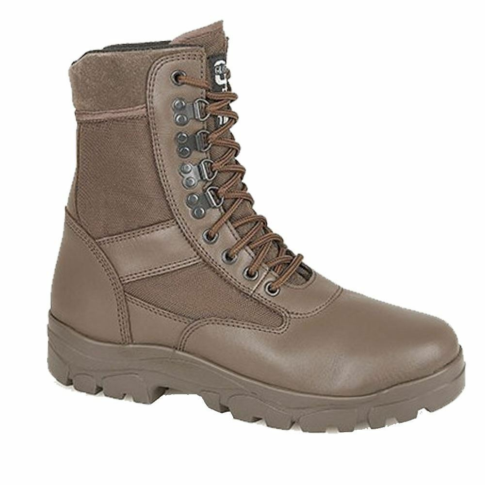 Grafters G Force Combat Cadet Army Military Style Security Braun High Boot