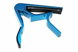 Metallic-BLUE-Quick-Change-CAPO-Tune-Clamp-Key-For-Acoustic-Electric-Guitar
