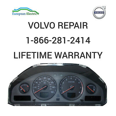 VOLVO SPEED INSTRUMENT CLUSTER REPAIR SERVICE S60 or S80 V70 XC70 XC90