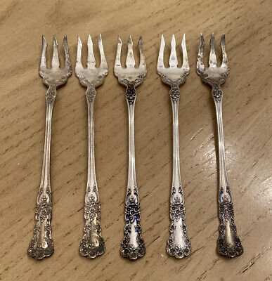 """1 Buttercup by Gorham Sterling Silver Cocktail Fork 5 1//2/"""" One"""