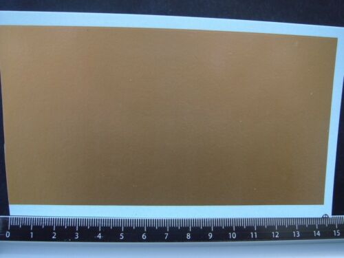 GOLD T435 DECALS SURFACE APPLAT OR