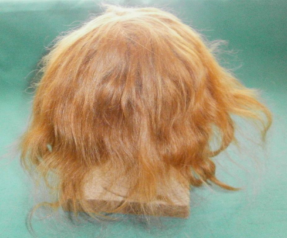Très, la surprise vous attend Poupée Perruque mohair mohair Perruque Strawberry Blond, cheveux courts/11