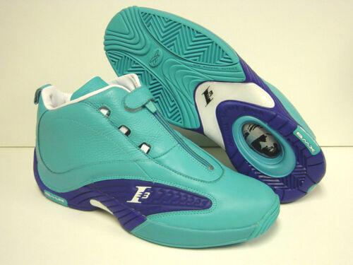 Iverson Sz Sample Ai Teal Iv Sneakers Scarpe Reebok Mid Nuovo Blue Risposta Uomo Raro sthQCrdx