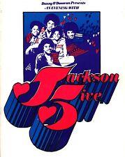 MICHAEL JACKSON FIVE 1972 9-DATE EUROPEAN TOUR CONCERT PROGRAM BOOK