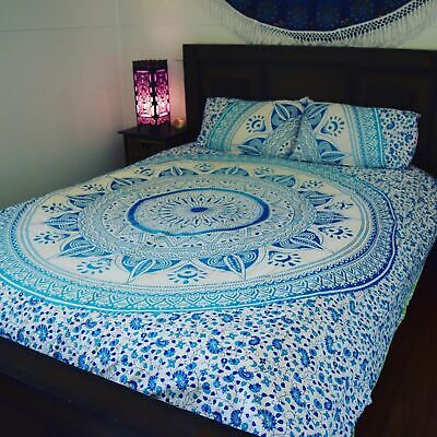 Made in India Printed Bed Over Sheet Wall Hanging