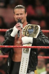 DOLPH ZIGGLER 8X12 COLOR PHOTO WWE ROH ECW TNA NXT HOH