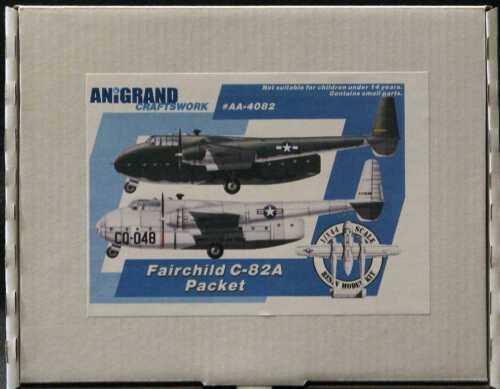 Air Force Transport Anigrand Models 1//144 FAIRCHILD C-82A PACKET U.S