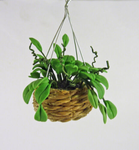 Dollhouse Miniature Hanging Philodendron Plant A1100