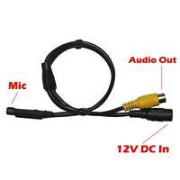Hd-tvi Hdahd 2xmic Mini Spy Hidden Microphone Home Surveillance Output Audio