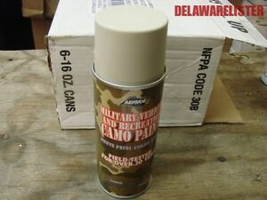 Details about Military Army Truck/Jeep Camo Spray Paint 12 oz  Can #977  Color: Sand