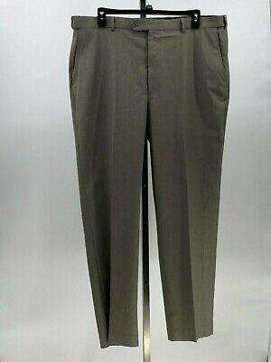 Roomers Extensible Glen Oaks Hommes Pantalon De Costume Étiquette Sz 44x32 Ki8 Pantalons