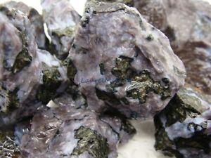 Natural INDIGO GABBRO Gemstone Rough - 2000 CARAT Lots - Reiki, Merlinite Stones