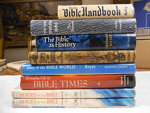 Bibles and Bible Story Books 8 Lot Illustrated 135F