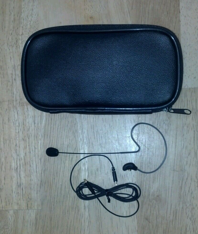 SBSL09A SNB Omni Earset Microphone with SHURE TA4F Connector schwarz Farbe NEW