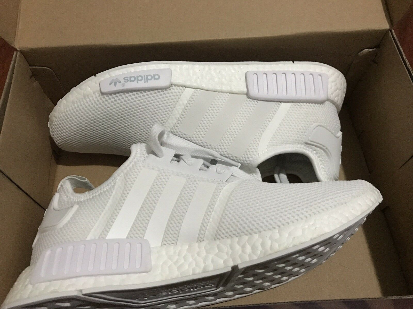 Mr/Ms Size 12 Adidas White NMD Beautiful design the most economical Exquisite (processing) processing