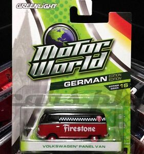 Greenlight-Motor-World-Firestone-Volkswagen-Panel-Van