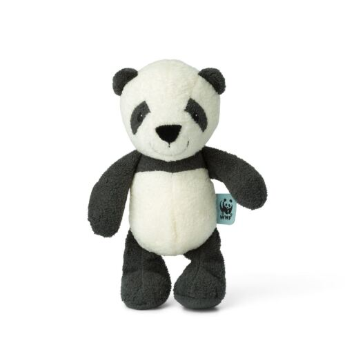 WWF Cub Club 22cms -Suitable From Birth Panu The Panda w//Bell Bon Ton Toys