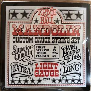 Soigneux Ernie Ball 2323 Mandoline Cordes Extra Light Gauge-afficher Le Titre D'origine Rendre Les Choses Commodes Pour Le Peuple