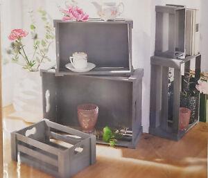 Holzkisten-Holzboxen-im-5-er-set-grau-mit-Vintage-Finish-Bad-und-Kueche