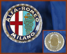 ALFA ROMEO 1900 GIULIETTA 2600 SPRINT SPIDER LOGO BADGE MILANO METALLO STEMMA