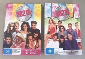 BEVERLY-HILLS-90210-First-amp-Second-Season-Pal-R4-DVD-x14-DVDs-Luke-Perry
