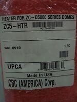 Ganz / Cbc - 24v Zc-d5000 Dome Mount Surveillance Camera Heater Zc5-htr