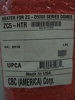 Ganz / Cbc - 24v Zc-d5000 Dome Mount Surveillance Camera Heater Zc5-htr