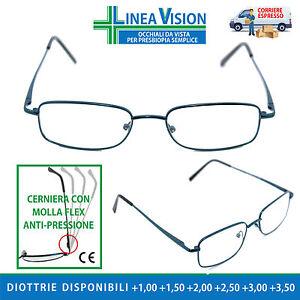 Occhiali Da Vista Da Vicino Per Lettura Leggere, Presbiopia Diottrie Premontati