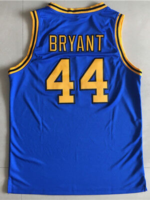 newest collection b1227 b7793 Kobe Bryant Jersey 44 Crenshaw High School Blue Basketball Jersey Shirt    eBay