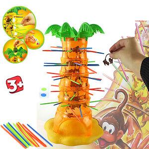 KIDS-TUMBLING-MONKEYS-TREE-PULL-OUT-STICKS-XMAS-BOARD-GAME-GIFT-TOY-CHILDREN