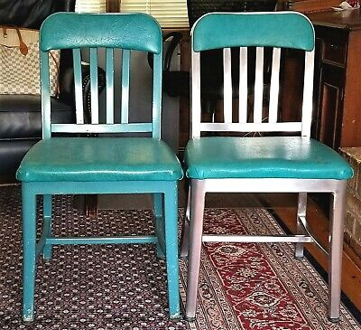 Emeco Navy Officers Chair 1022 Aluminum Copied By Goodform Vintage Modern Ebay