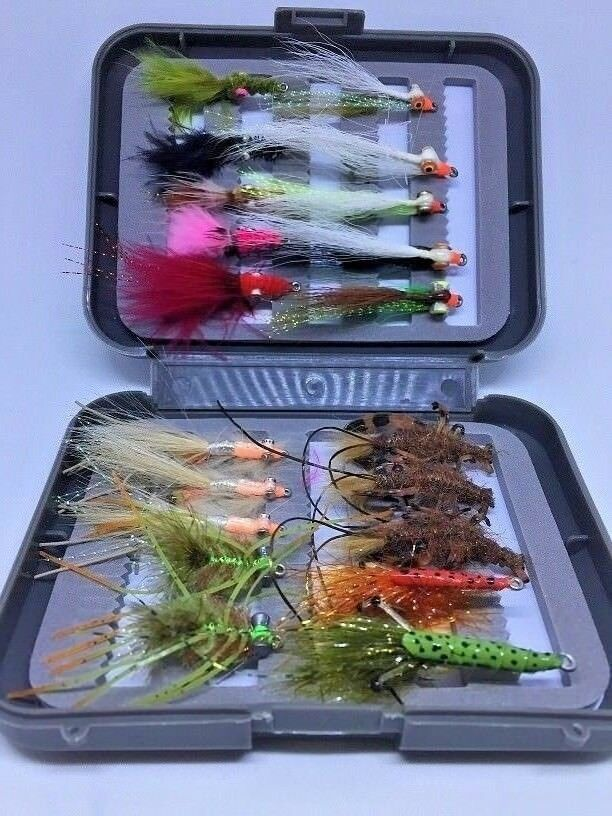 FLATHEAD ON THE FLY  SALTWATER FLY FISHING FLIES COLLECTION  gorgeous