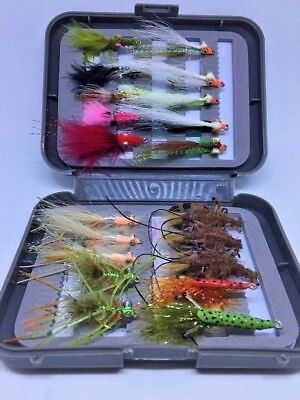GOTCHA Pink and Crystal  x 6  Saltwater fly fishing flies #2