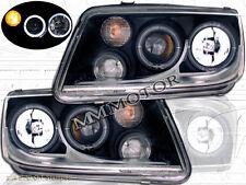 99-05 VW JETTA GL/GLI/GLS/GLX/TDI BLACK HALO PROJECTOR HEADLIGHTS W/FOG