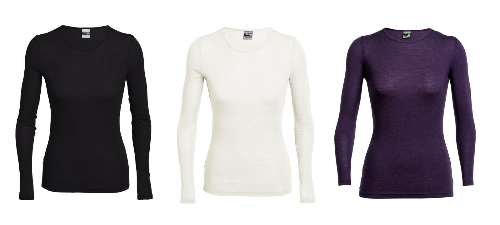 Icebreaker Everyday Ls Crewe 200g M ² - Sporty Breathable Womens