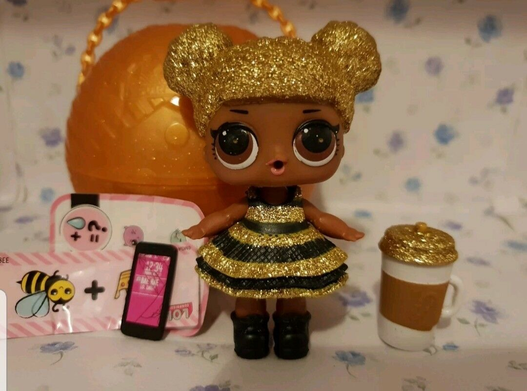 LOL Surprise Doll QUEEN BEE Series 1 Ultra Rare   Brand new, never played with.