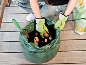 Plantez-sac Pour Pommes De Terre-pommes De Terre Sur Le Balcon!-afficher Le Titre D'origine Non Repassant