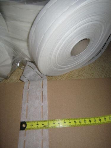 TW1-3 -1 0,12 € //m 100 m Klebende Stanzband Bügelvlies Weiß 1//3 //1 cm Eu Ware