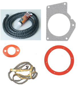 SHIPS TODAY! Envirofire Pellet Exhaust Combustion Blower Silicone Gasket