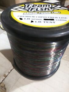 125 lb 190 yards x 4 = 1/2 LB SPOOLS SIZE EACH COPOLYMER FISHING LINE CLEARANCE