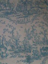 "*Schumacher "" LA LIBERTE AMERICAINE""  Blue- Toile / 2      Wallpaper  $ 1200."
