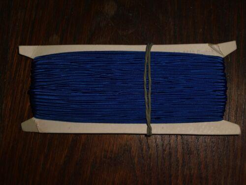0,3cm 50m auf der Pappe DDR OPEW Höhe ca blau Soutache//Litze 0,40€//m