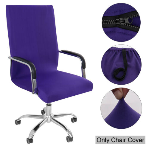 Swivel Office Chair Cover Stretch Office Armchair Slipcovers