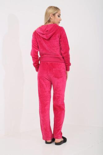 NUOVA linea donna Stivali con cappuccio Completo Velour Tuta Da Ginnastica Yoga Sport Tuta Da Jogging Palestra
