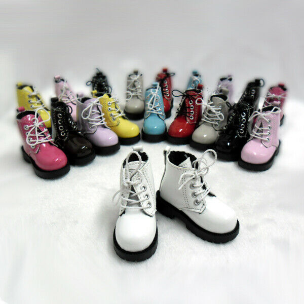 Yellow Mimi Collection MSD Doc 1//3 BJD Obitsu Doll Shoes Strap Boots