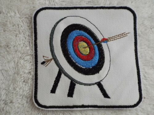 """E34 ARCHERY 3-5//8/"""" Embroidery Iron-on Patch"""